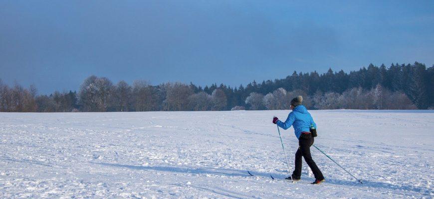 Польза лыжной прогулки