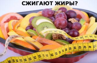 Продукты сжигающие жир